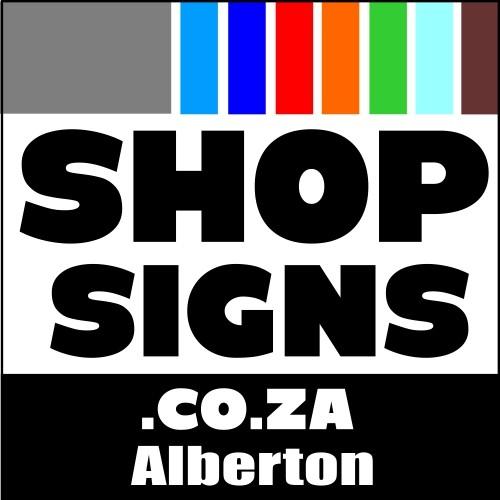 Shop Signs Alberton